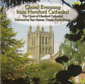 Choral Evensong from Hereford Cathedral