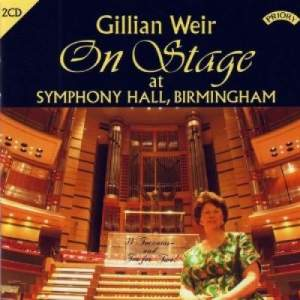 Gillian Weir: On Stage at Symphony Hall, Birmingham