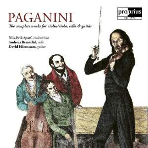 Paganini: The Complete Works for Violin/Viola, Cello & Guitar Product Image