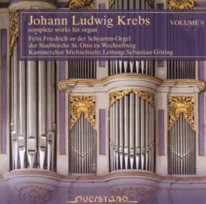 Johann Ludwig Krebs: Complete Works For Organ Vol. 9