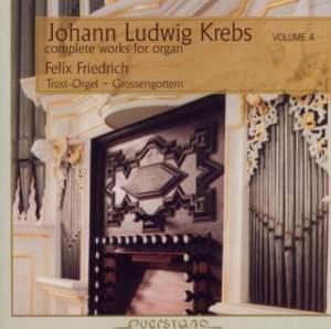 Johann Ludwig Krebs: Complete Works for Organ, Vol. 4