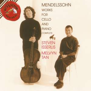 Mendelssohn - Complete Works for Cello and Piano Product Image