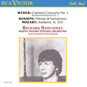Richard Stoltzman Plays Weber, Mozart & Rossini