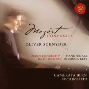 Mozart-Contrasts: Piano Concertos Nos. 12, 13 & 26