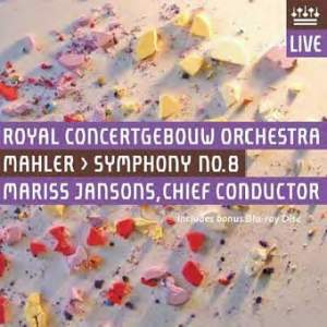 Mahler: Symphony No. 8 (with bonus bluray disc)