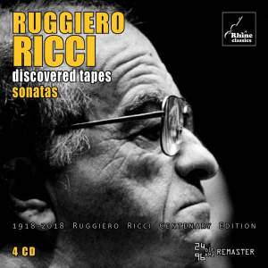 Ruggiero Ricci - Discovered Tapes - Sonatas Product Image