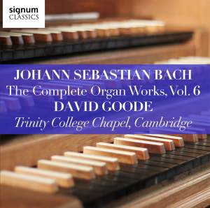 Johann Sebastian Bach: The Complete Organ Works Vol. 6 Product Image