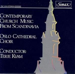 Contemporary Church Music from Scandinavia Product Image