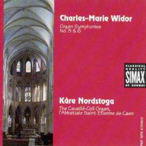 Widor: Organ Symphonies Nos. 5 & 6 Product Image