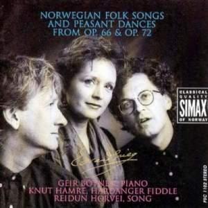 Grieg: Norwegian Folk Songs & Peasant Dances from Op. 66 & Op. 72