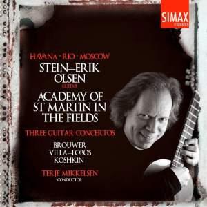 Brouwer, Koshkin & Villa-Lobos: Guitar Concertos