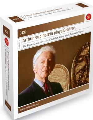 Arthur Rubinstein plays Brahms