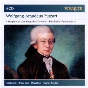 Mozart: Symphonies after Serenades, Overtures, Eine Kleine Nachtmusik