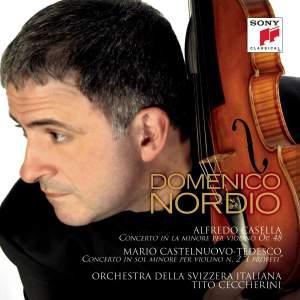 Casella & Castelnuovo-Tedesco: Violin Concertos