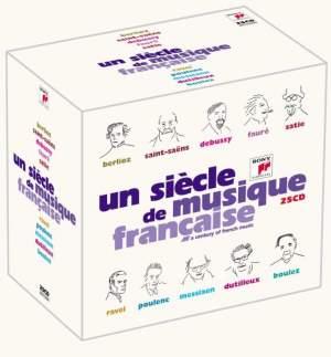Un siècle de musique francaise