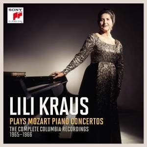 Lili Kraus plays Mozart Piano Concertos
