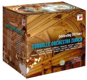 Celebrating 150 Years Tonhalle Orchestra Zurich