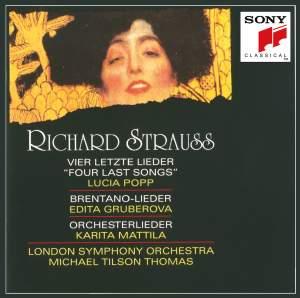 Richard Strauss: Four Last Songs, Brentano Lieder & Orchestral Lieder