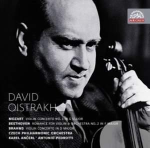 David Oistrakh plays Mozart, Beethoven & Brahms