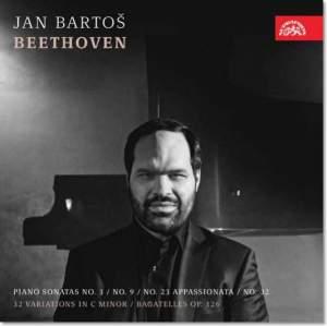 Beethoven: Piano Sonatas No. 3&#x3B; No. 9&#x3B; No. 23 Appassionata&#x3B; No. 12