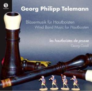 Telemann: Wind Band Music for Hautboisten Product Image