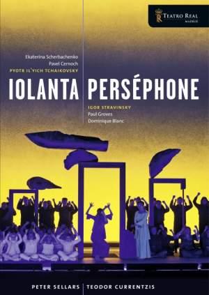 Tchaikovsky Iolanta & Stravinsky Persephone Product Image