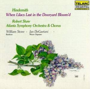 Hindemith: When Lilacs Last in the Dooryard Bloom'd - Requiem for those we love