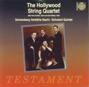 The Hollywood String Quartet play Schoenberg and Schubert