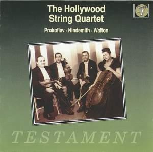 Prokofiev: String Quartet No. 2, Hindemith: String Quartet No. 4 & Walton: String Quartet