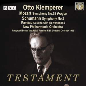Otto Klemperer conducts Mozart, Schumann and Rameau