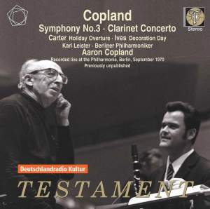 Copland: Symphony No. 3 & Clarinet Concerto