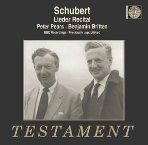 Schubert: Lieder Recital