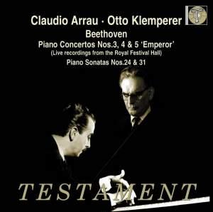 Claudio Arrau & Otto Klemperer Product Image