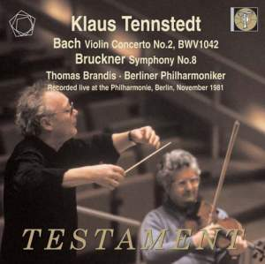Klaus Tennstedt conducts Bach & Bruckner