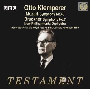 Otto Klemperer conducts Bruckner & Mozart Product Image