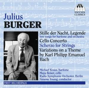 Julius Burger: Two Songs for Baritone and Orchestra