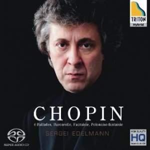 Chopin: 4 Ballades, Barcarolle & Fantaisie