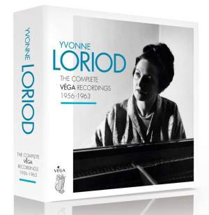 Yvonne Loriod - The Complete Vega Recordings 1956 - 1963