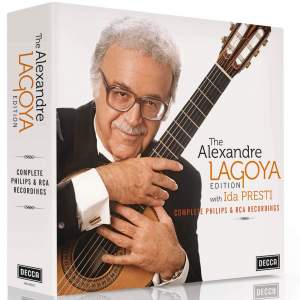 The Alexandre Lagoya Edition with Ida Presti - Complete Philips & RCA recordings Product Image