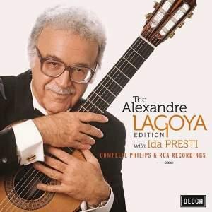 The Alexandre Lagoya Edition with Ida Presti - Complete Philips & RCA recordings