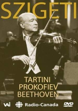 Joseph Szigeti plays Tartini, Prokofiev & Beethoven