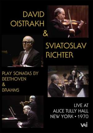 David Oistrakh and Sviatoslav Richter: Live at Alice Tully Hall