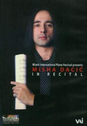 Misha Dacic In Recital