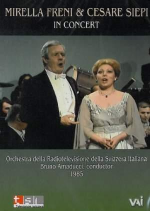 Mirella Freni & Cesare Siepi in Concert, 1985