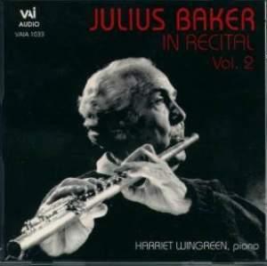 Julius Baker in Recital, Vol. 2