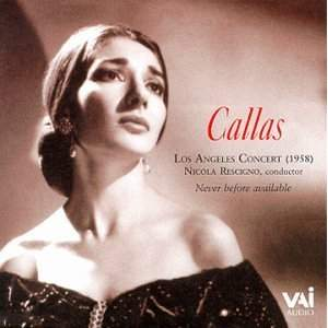Maria Callas: Los Angeles Concert 1958