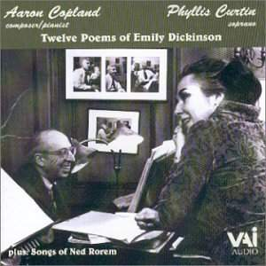 Phyllis Curtin sings Copland and Rorem