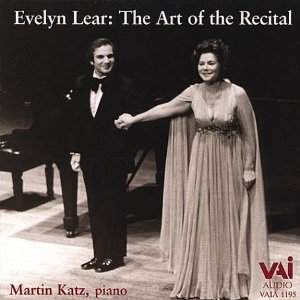 Evelyn Lear: The Art of the Recital