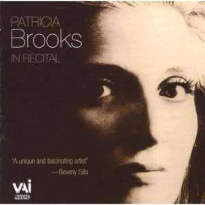 Patricia Brooks in Recital