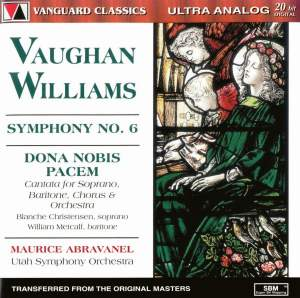 Vaughan Williams: Symphony No. 6 & Dona Nobis Pacem